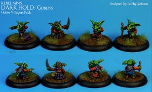 3) Goblin Villagers Pack