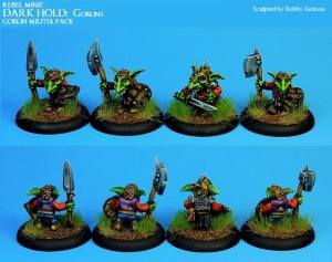 4) Goblin Militia Pack