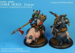 6) Knight Goblin Jousters Pack