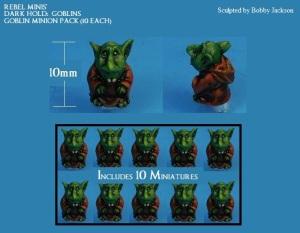8) GOBLIN MINIONS PACK (10)